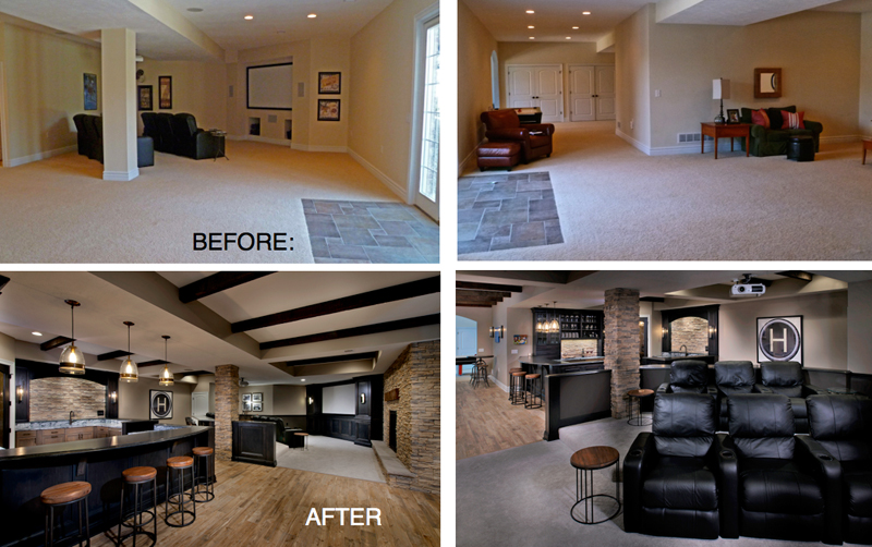 Basement Remodeling Ideas Before And After two more design-build awards on december 11th!