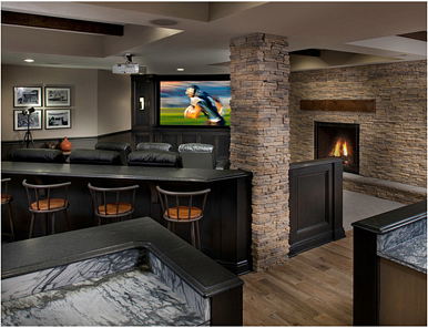 Bat Home Theater Remodel Png